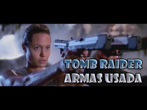 LARA CROFT (TOMB RAIDER) – ARMES UTILISÉES DANS LE FILM