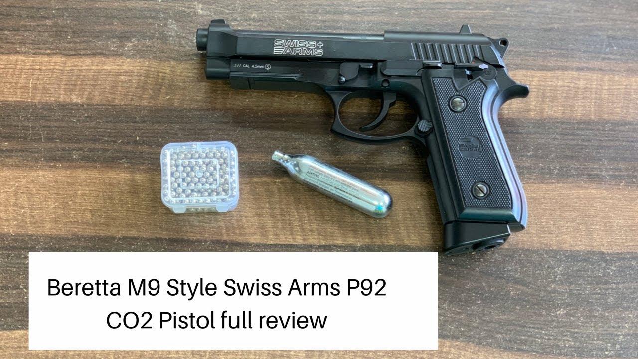 Beretta M9 Style Swiss Arms P92 Pistolet à CO2 examen complet
