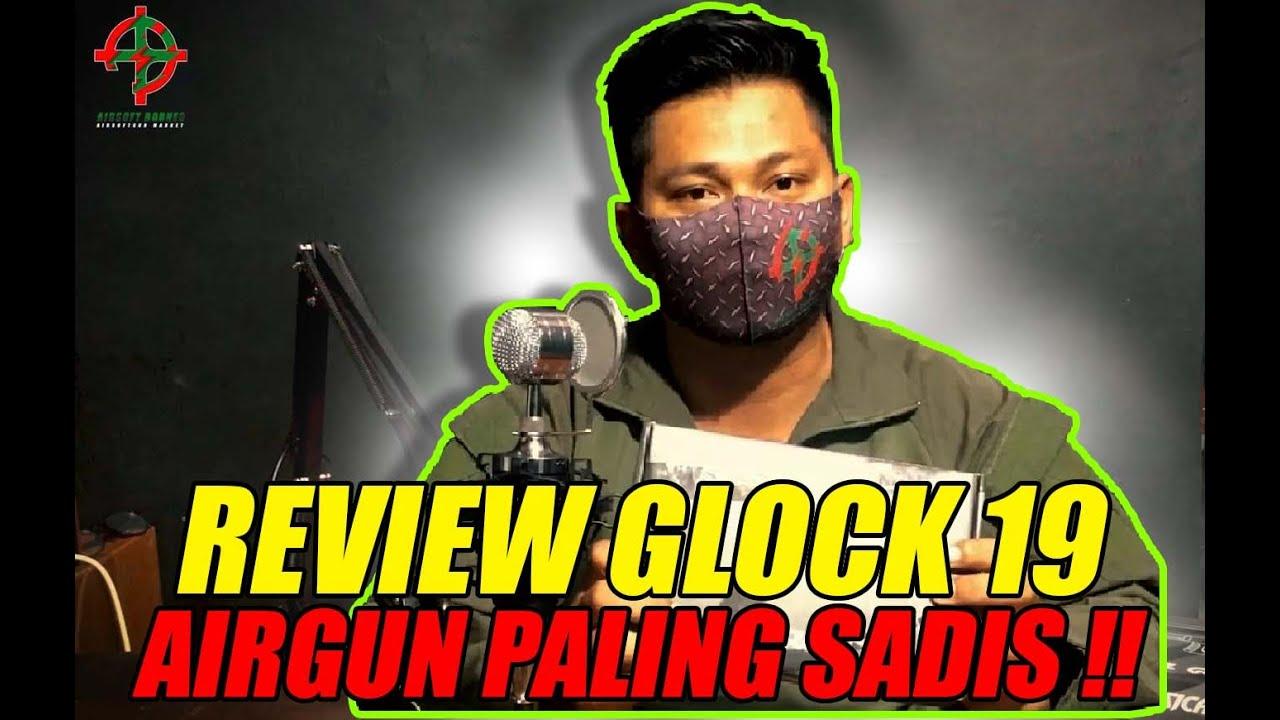 GLOCK 19 Review! Le pistolet à air le plus sadique et FPS adapté aux DÉBUTANTS