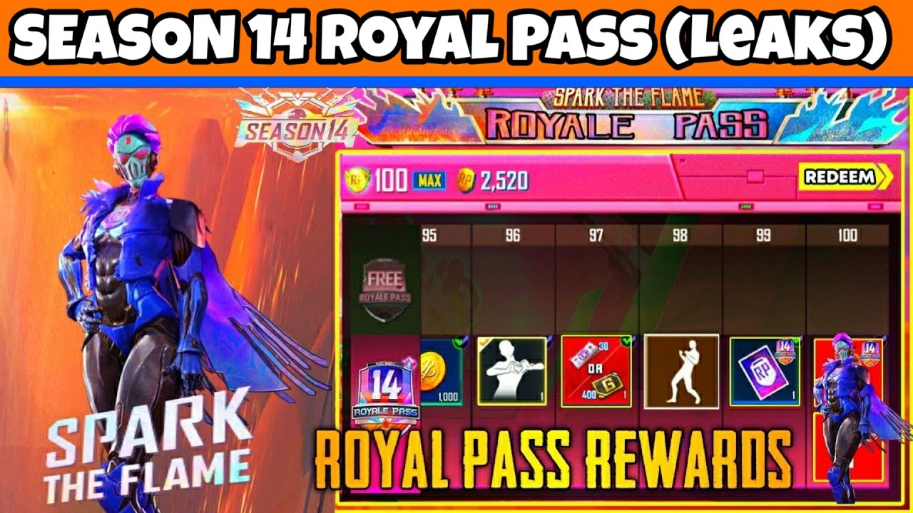PUBG MOBILE SAISON 14 ROYAL PASS || S14 LEAKS PUBG MOBILE | SAISON 14 PUBG EMOTE & REWARDS