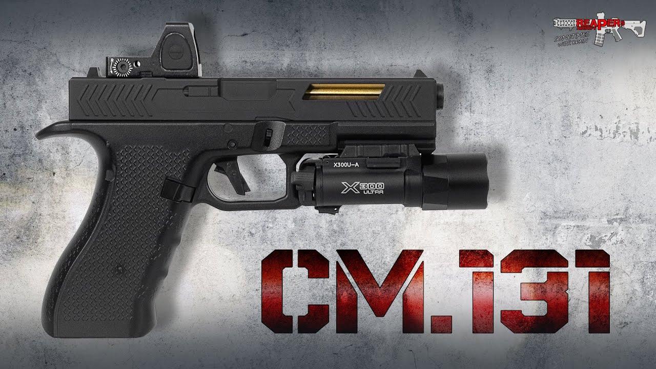 [Review] Cyma CM.131 Gen.3 AEP – LiPo, Mosfet, RMR (Reddot) – Test Airsoft / Softair 6 mm (allemand, DE)