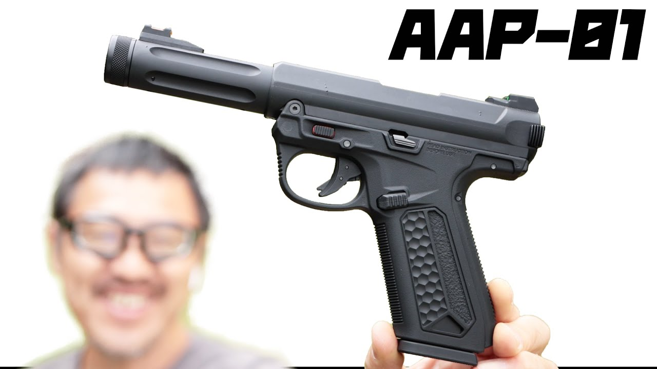 Assassin AAP-01 Gasbro Full Auto Gas Gun Glock Magazine Compatible Action Army Airsoft Review ActionArmy AAP01 Airsoft review