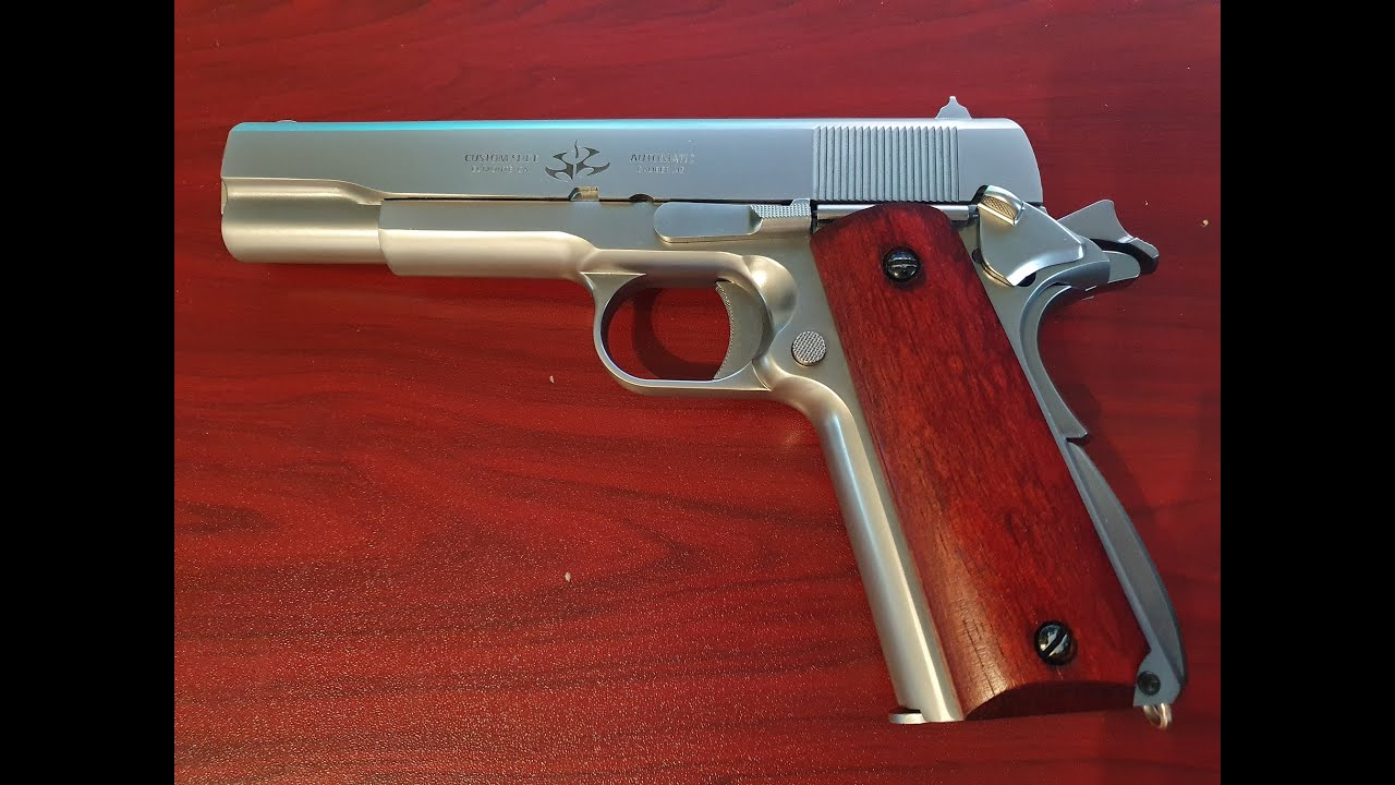 réplique le pistolet de HITMAN + revue WE colt 1911