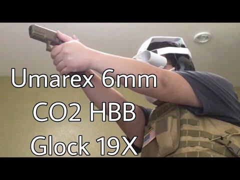 Test du Airsoft CO2 Half-Blowback Glock 19X
