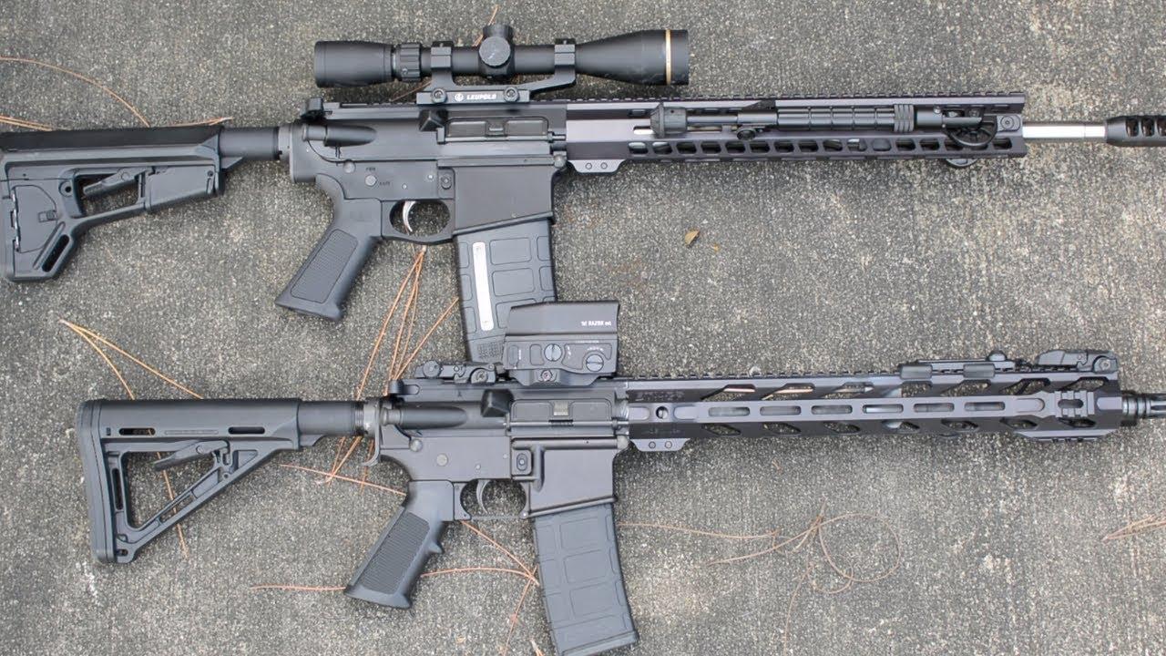 AR-15 Vs. AR-10 choses à considérer!