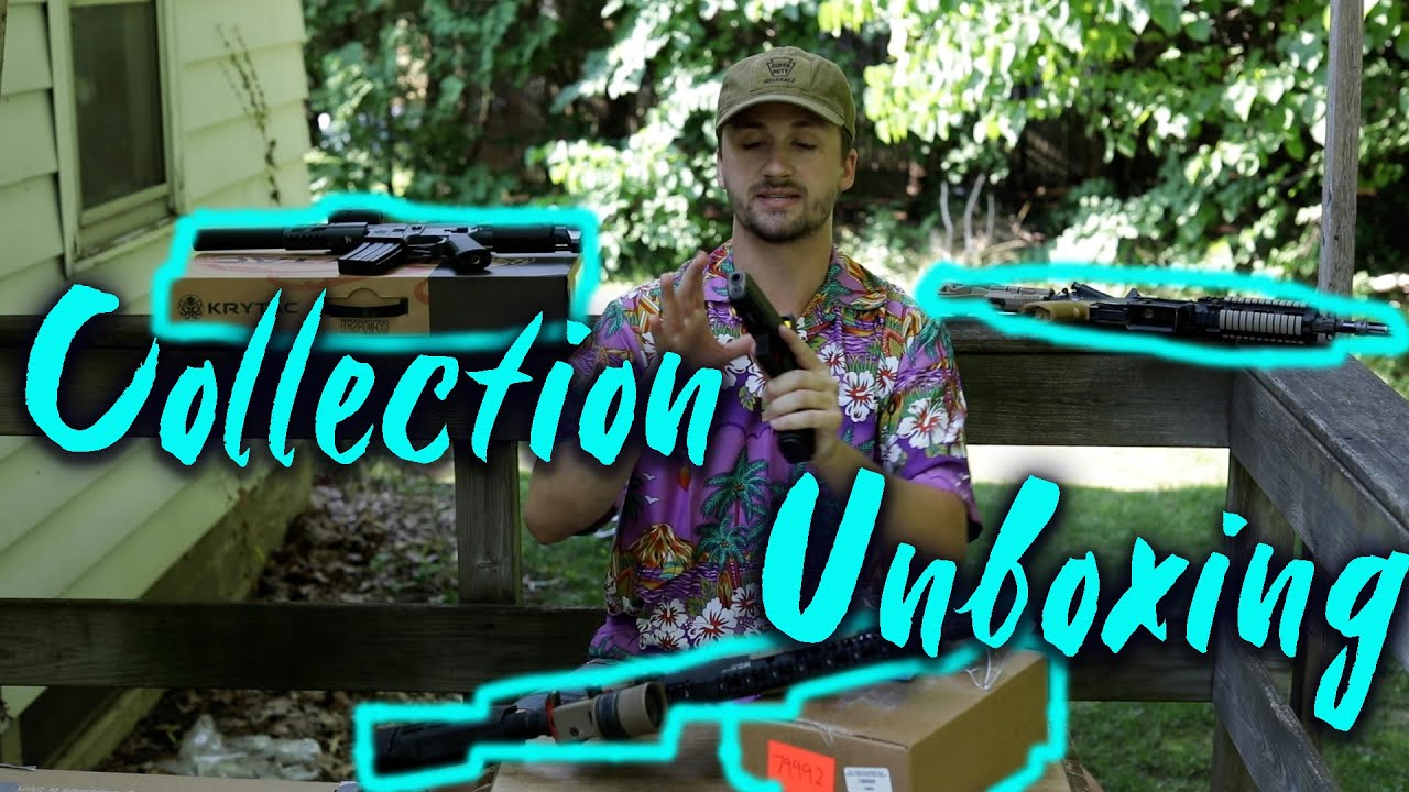 Airsoft Collection Unboxing + Evike Dad Box