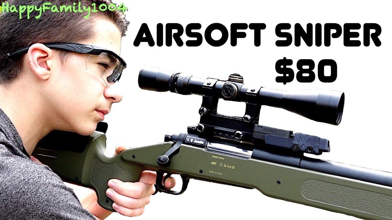 Meilleur fusil de sniper Airsoft à petit budget! 80 $!