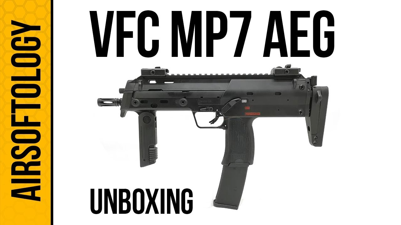 VFC & # 39; s HK MP7 AEG Unboxed! | Airsoftology Unboxing