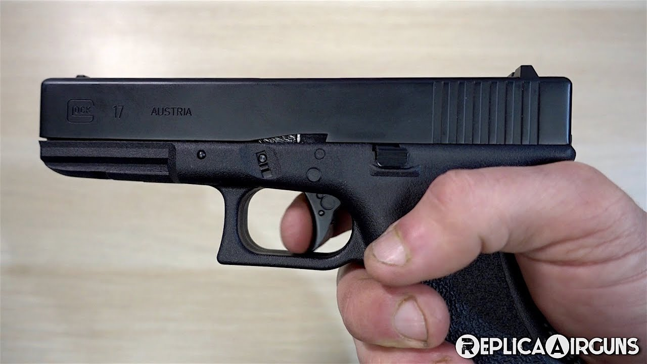 Umarex Glock 17 3ème génération CO2 Blowback BB Pistol Table Top Review