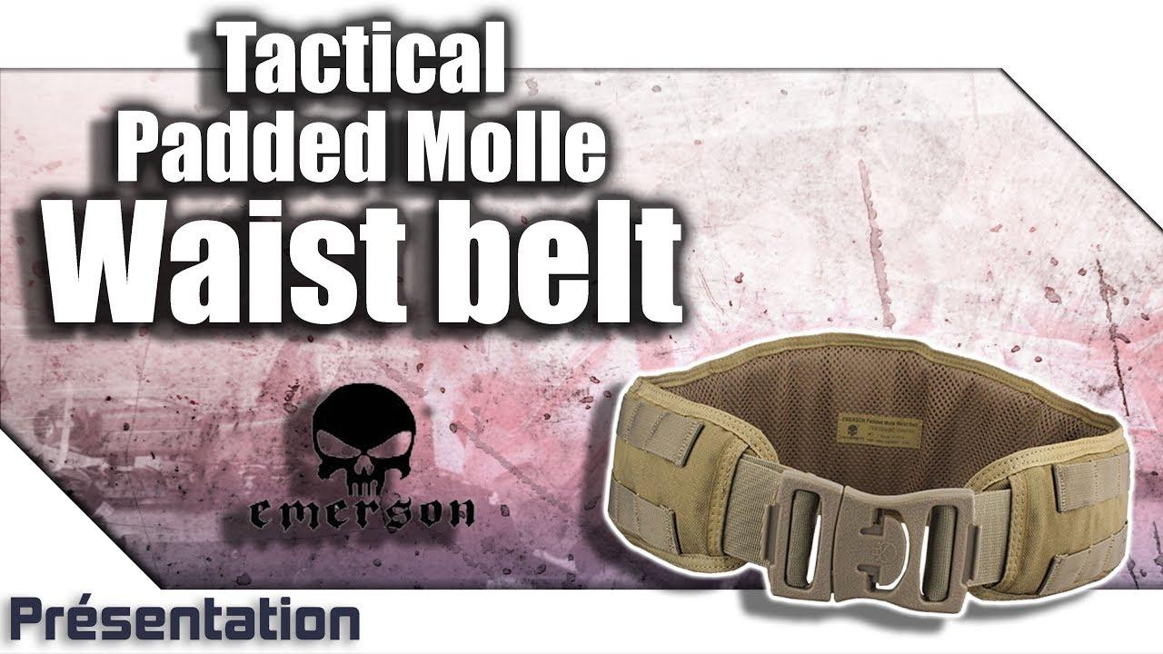 [Tactical Padded Molle Waist Belt – Emerson] Présentation   Review   Airsoft FR – EN subs