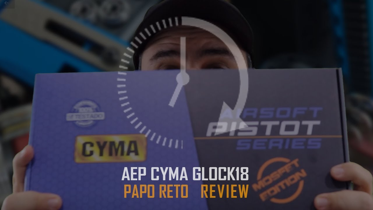 CYMA AEP REVIEW GLOCK 18 AIRSOFT