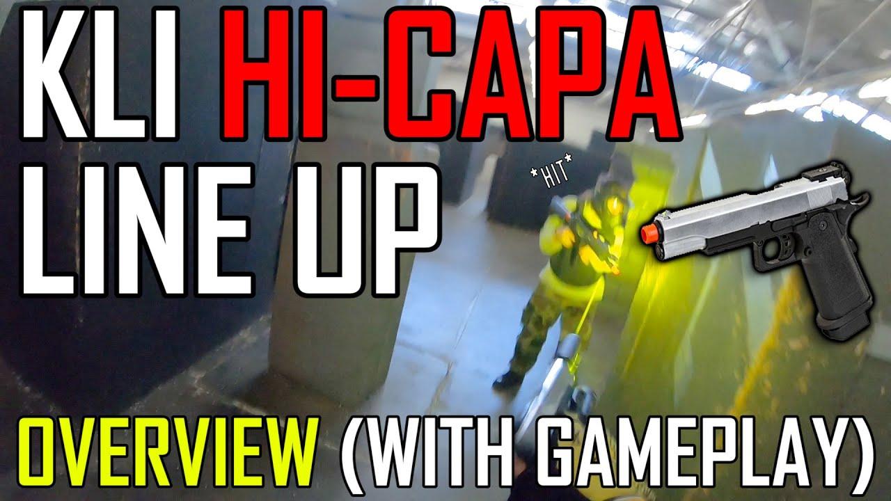 Qu'est-ce que le KLI Hi Capa?: Gameplay et présentation! | Airsoft GI