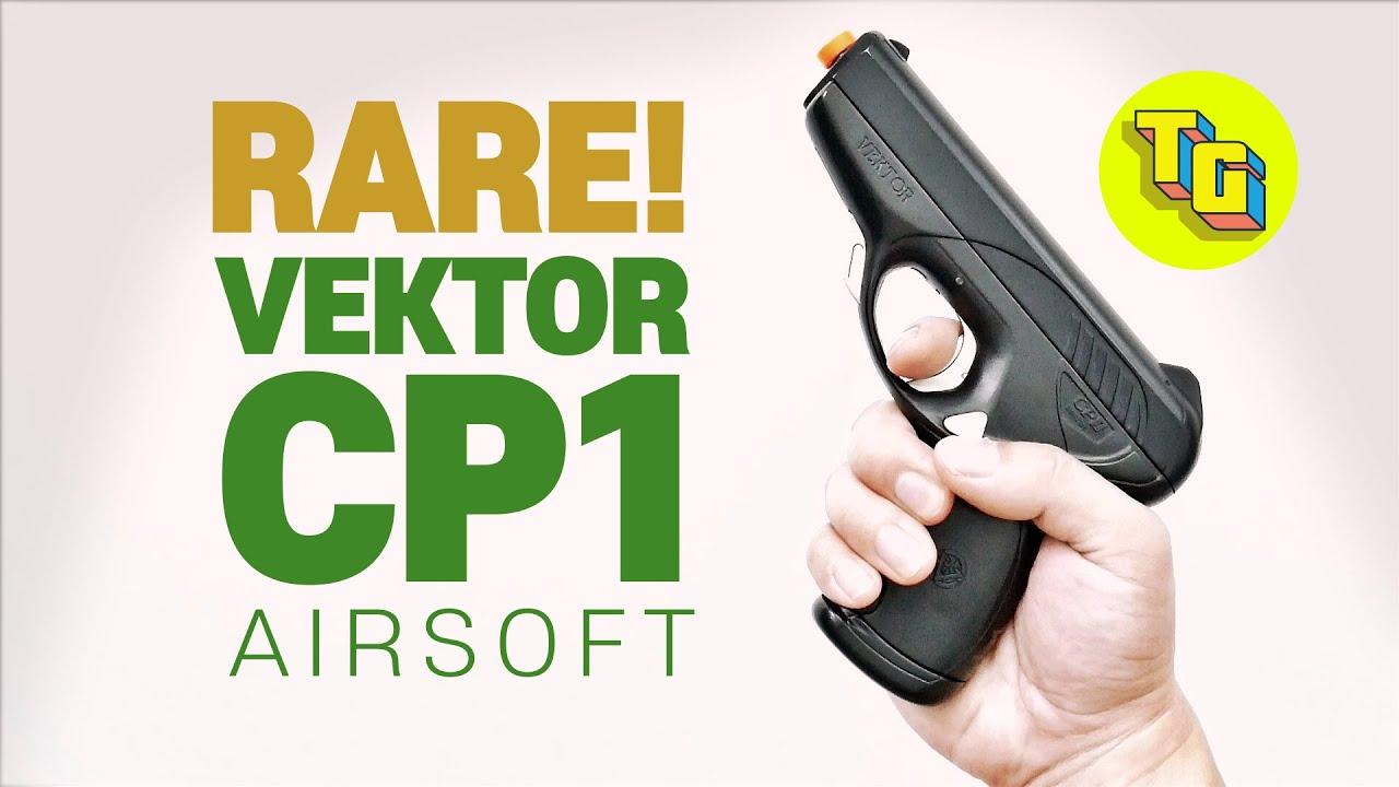 [RARE] REVUE DES PISTOLETS VEKTOR CP1 AIRSOFT l Pistolets Pistolets Jouets Réalistes