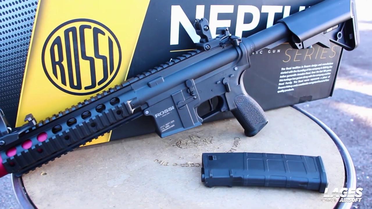 """Test de la carabine Rossi Airsoft AEG AR15 Neptune 8 """"SD"""