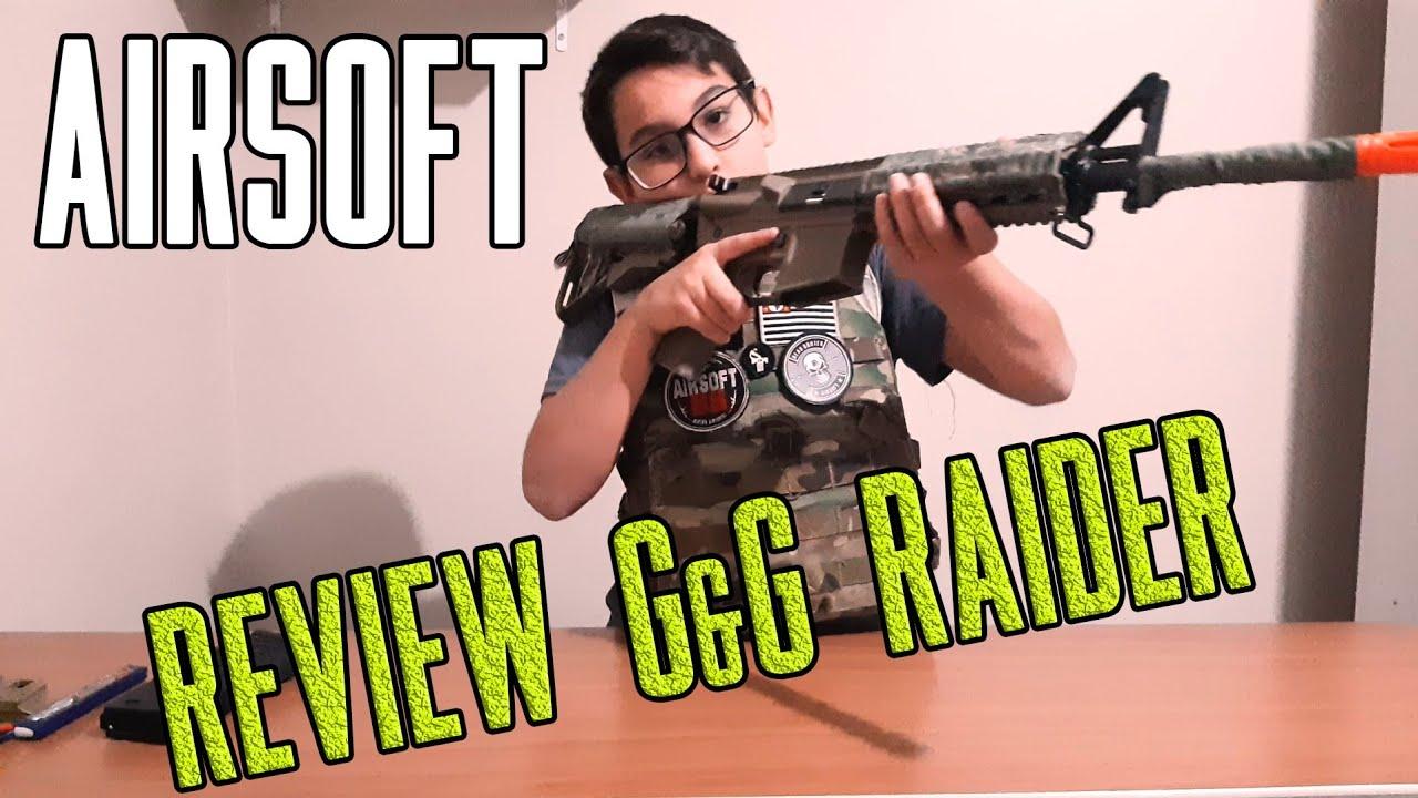 REVUE AIRSOFT 💥💥 G&G RAIDER