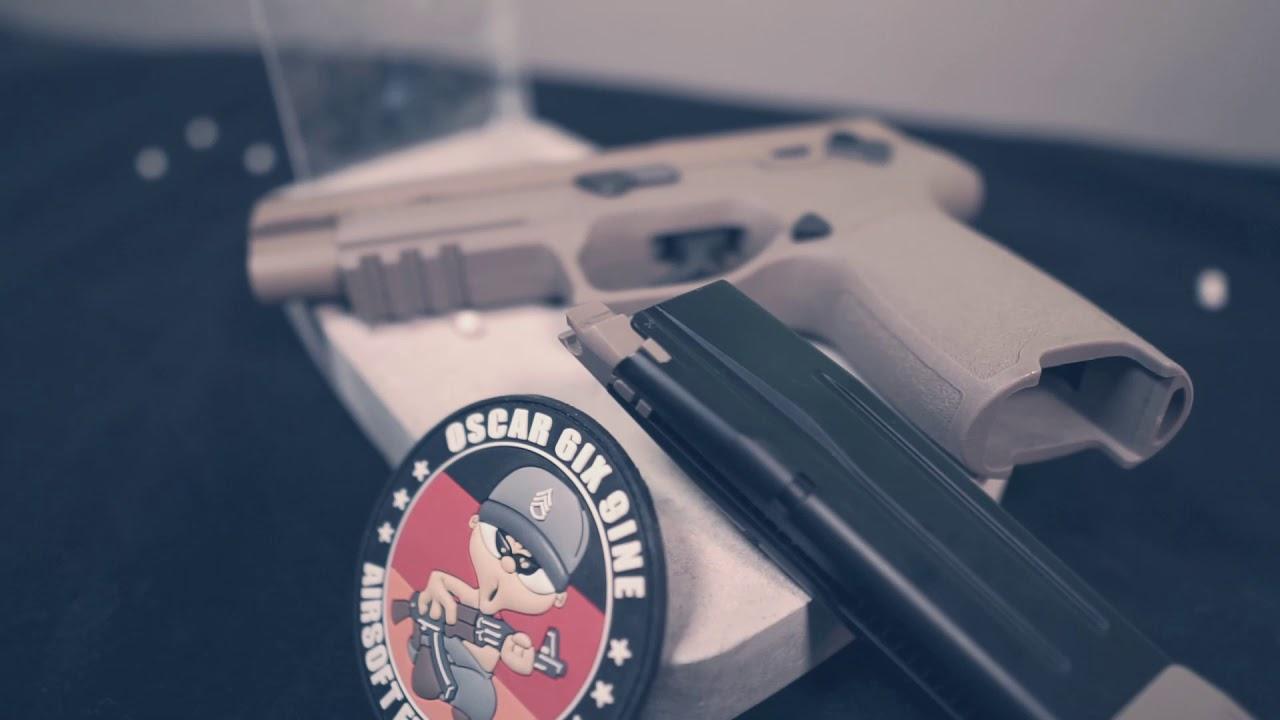 Pistolet Airsoft AEG F17 GBB