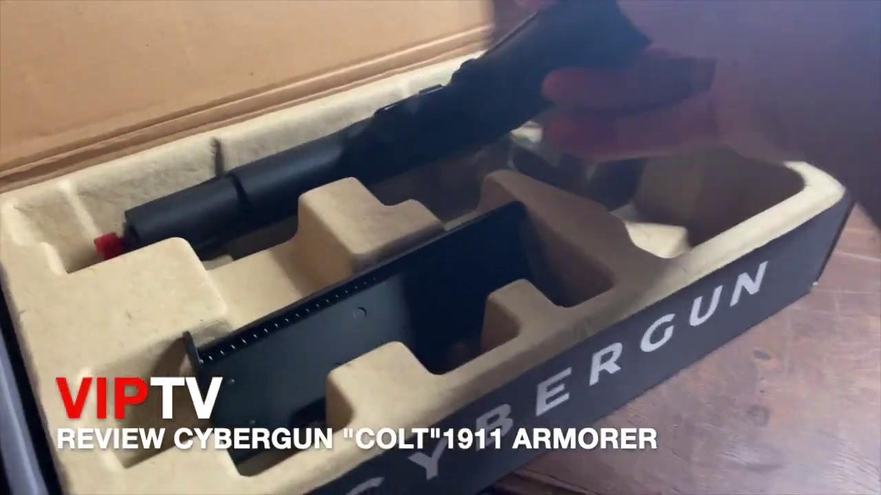 "REVUE CYBERGUN ""COLT"" 1911 ARMORER"