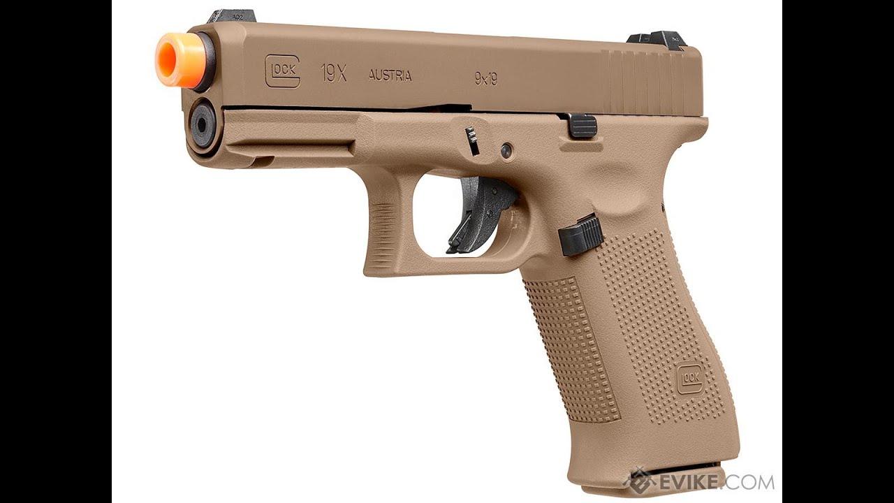 Excellent pistolet airsoft de départ Umarex Glock 19X Blowback Review