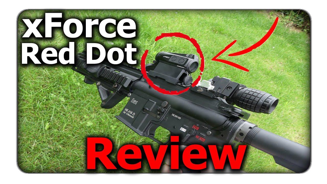 Ce point rouge n'a pas besoin de piles! | xFORCE Solar Red Dot Review