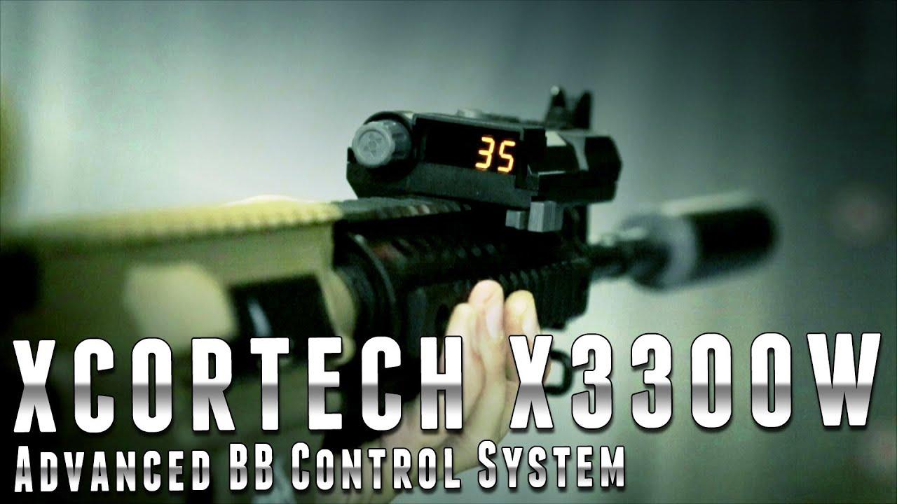 Système de contrôle avancé BB Xcortech X3300W – Airsoft Evike.com