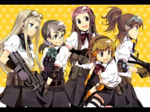 Revue d'anime de Stella Jojakuin Koutou-ka C3-bu. Comme les pistolets airsoft, cet anime est pour vous?