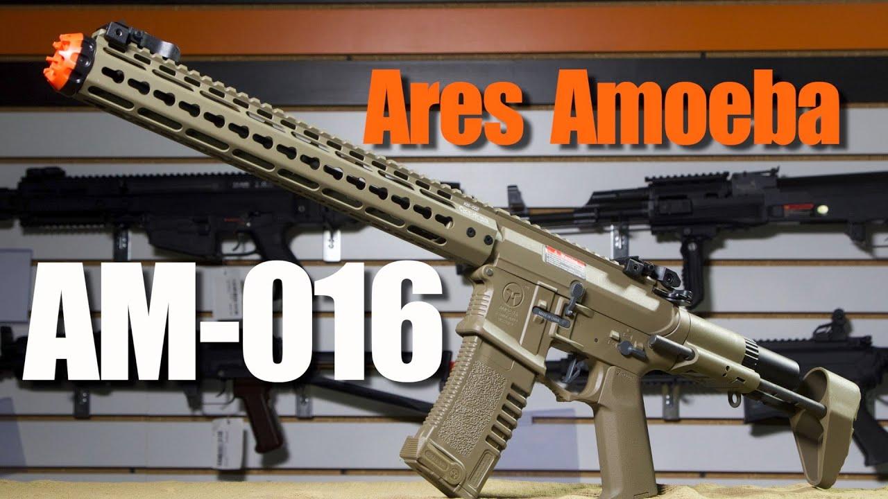 Ares Amoeba AM-016 – Revue de la station Airsoft