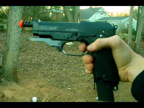 Revue du pistolet airsoft KWA M93R 2