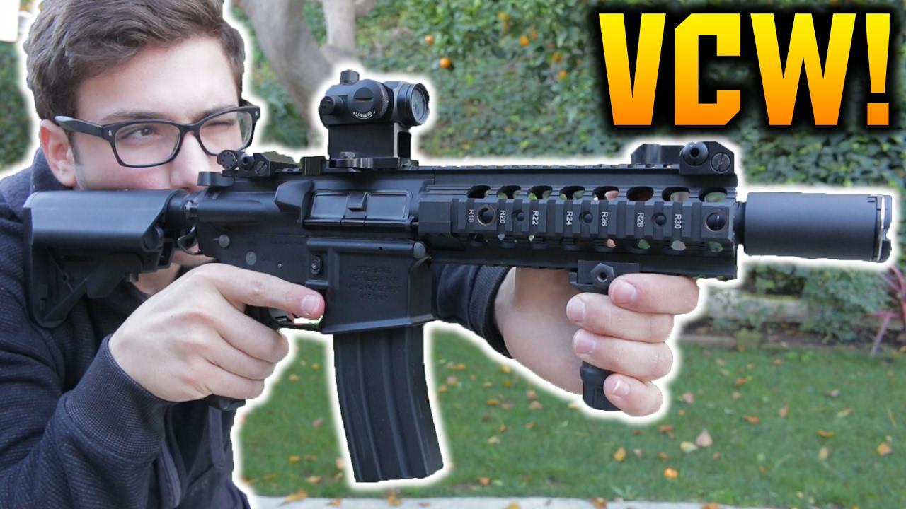 Examen VCW de l'armée classique et test de tir! | Aperçu / Chrono / Précision / Test de dommages!