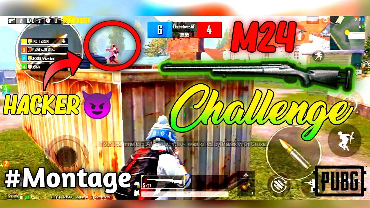 Gameplay TDM uniquement M24 | Pubg Mobile | HINDI