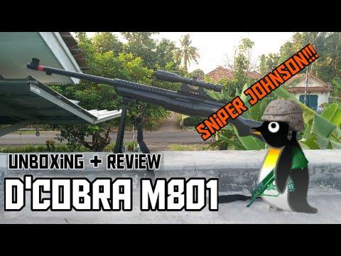 Déballage + avis Airsoft D & # 39; cobra m801 [] «Cobra sniper johnson [] Airsoft indonésien