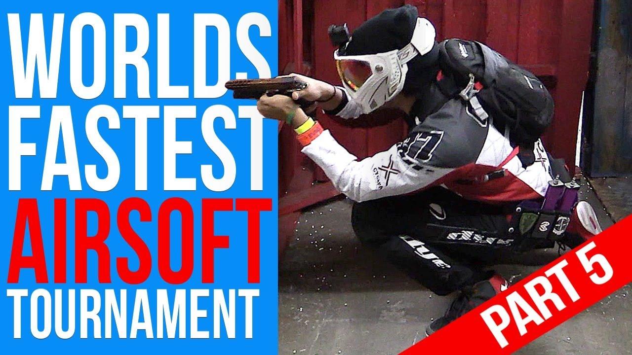 TOURNOI AIRSOFT LE PLUS RAPIDE AU MONDE # 5 | Championnat SpeedQB