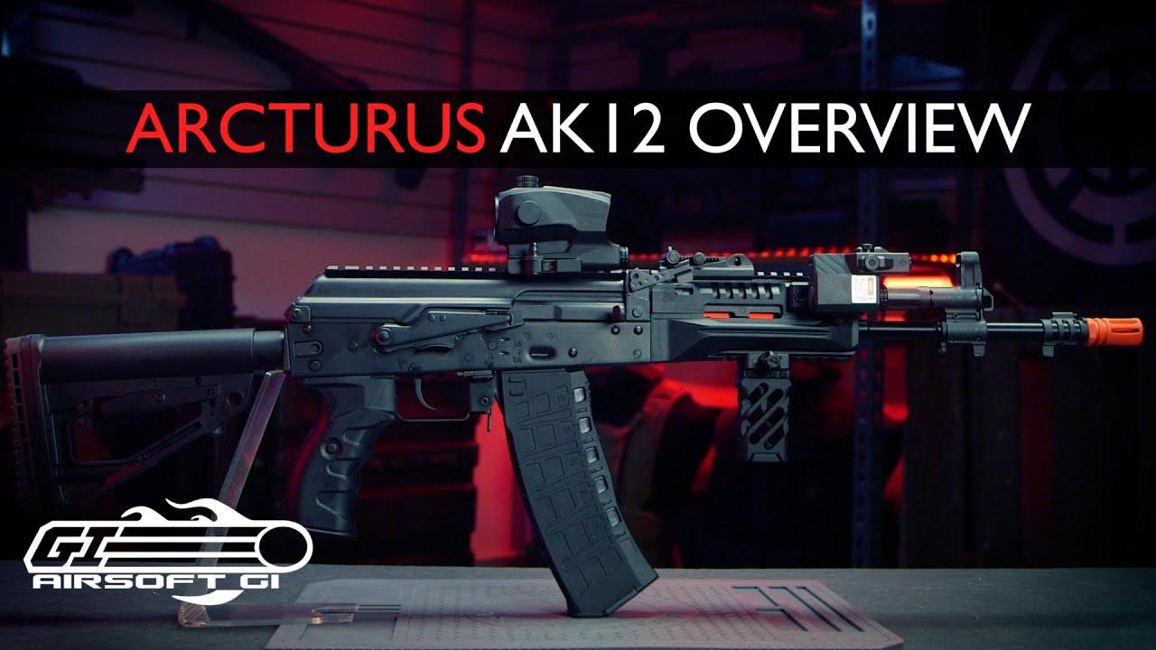 MEILLEUR AK MAINS VERS LE BAS?! – Arcturus AK12 AEG   Airsoft GI