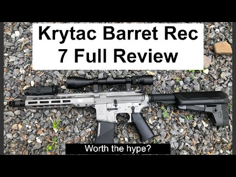 Critique complète de Krytac Barrett Rec 7