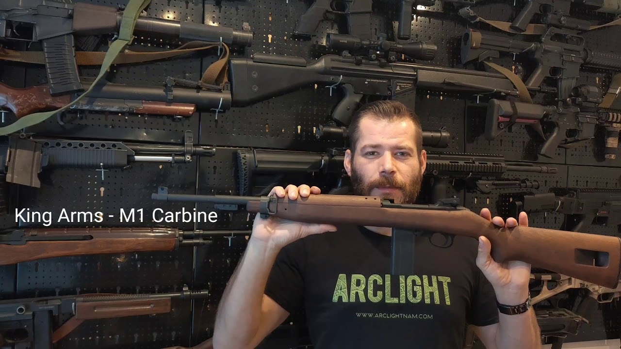 King Arms Airsoft – M1 Carbine Unboxing & Review