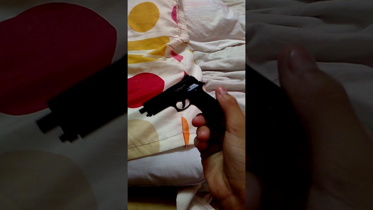 Test du Mini Gun (pistolet) Mini Airsoft