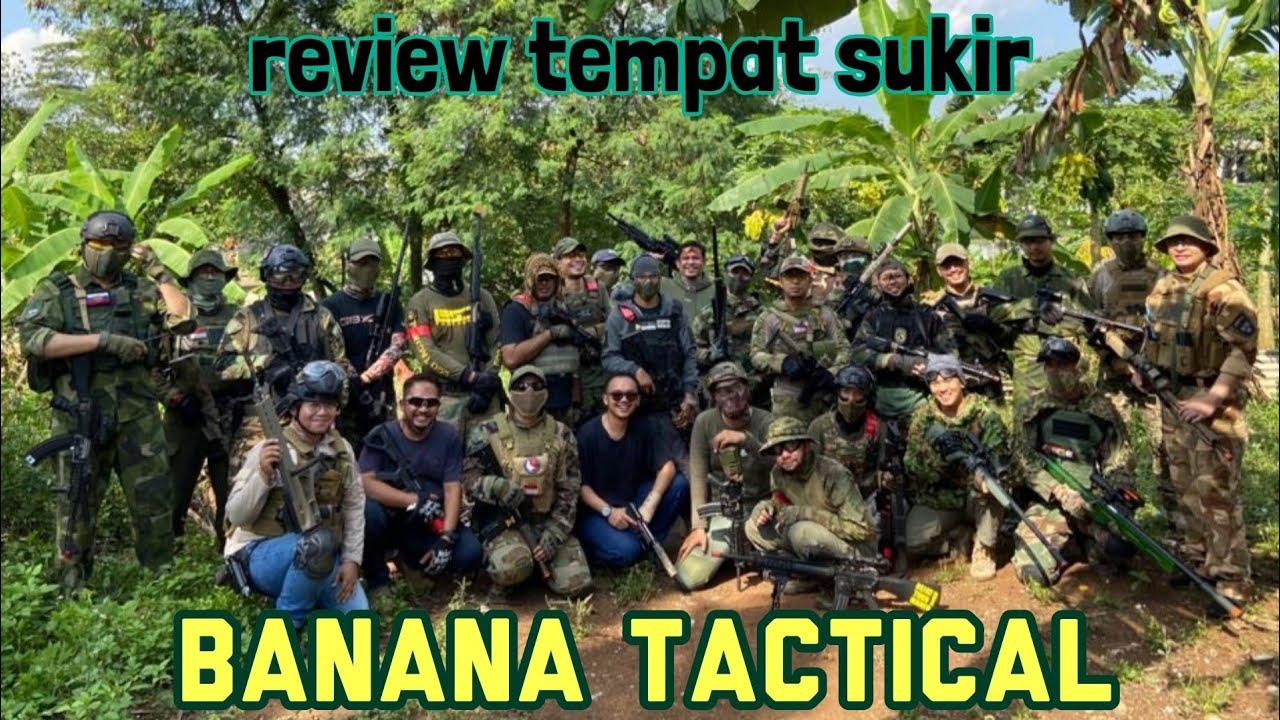 BANANA TACTICAL: REVIEW PLACE MAEN AlRSOFT À JAGAKARSA JAKARTA