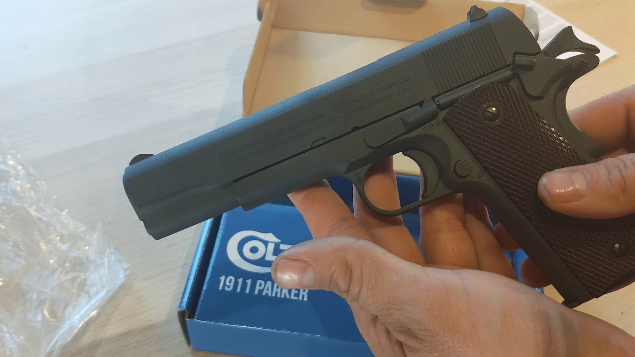 Cybergun Airsoft – 1911 Co2 Review & Unboxing