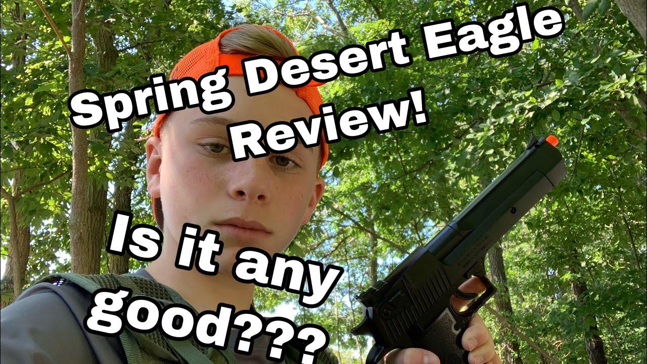 REVUE SPRING DESERT EAGLE! EST-IL BON???