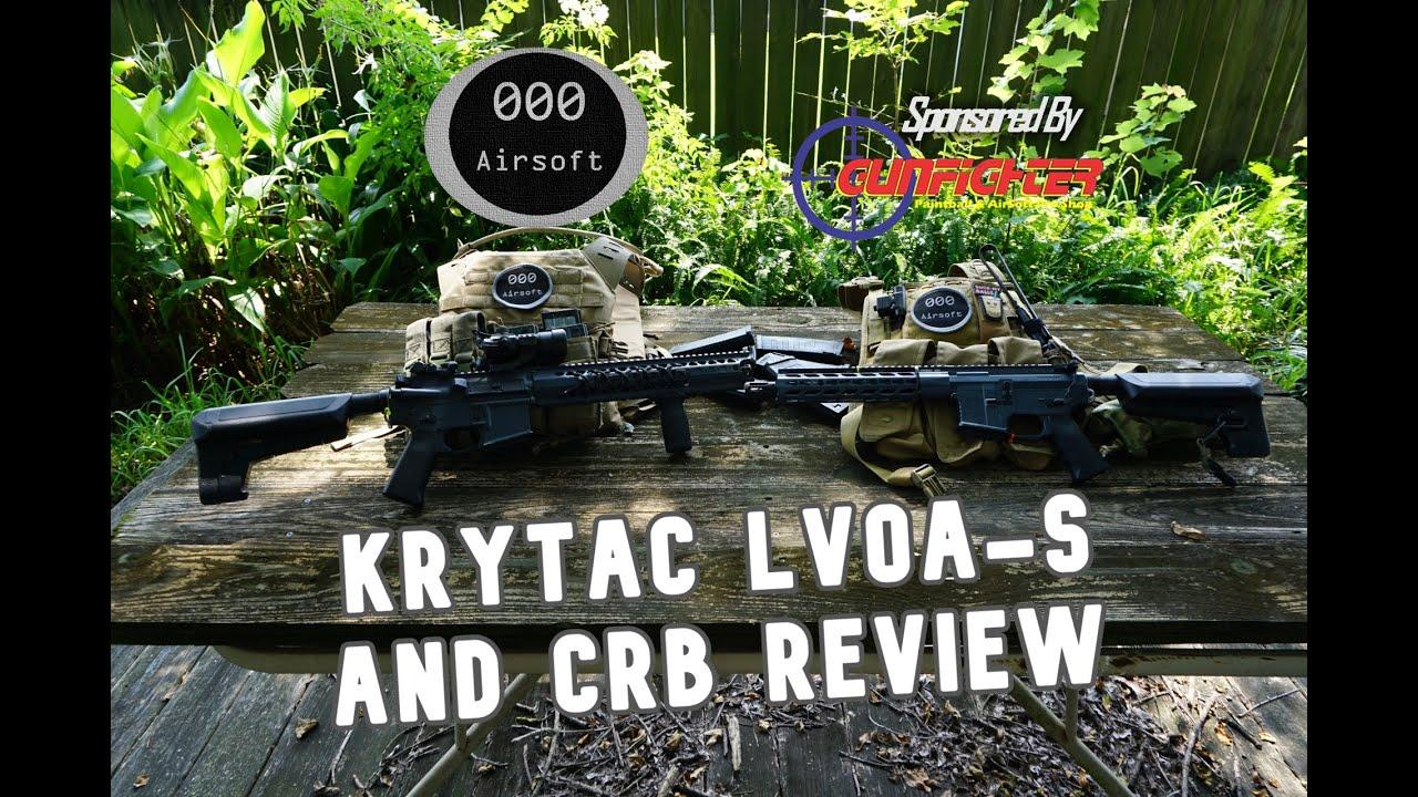Krytac LVOA-S Airsoft Gun Review (par rapport au CRB)!