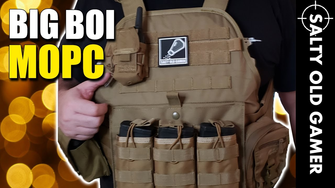 Gilet tactique modulaire GFIRE pour Big Bois | SaltyOldGamer Airsoft Review