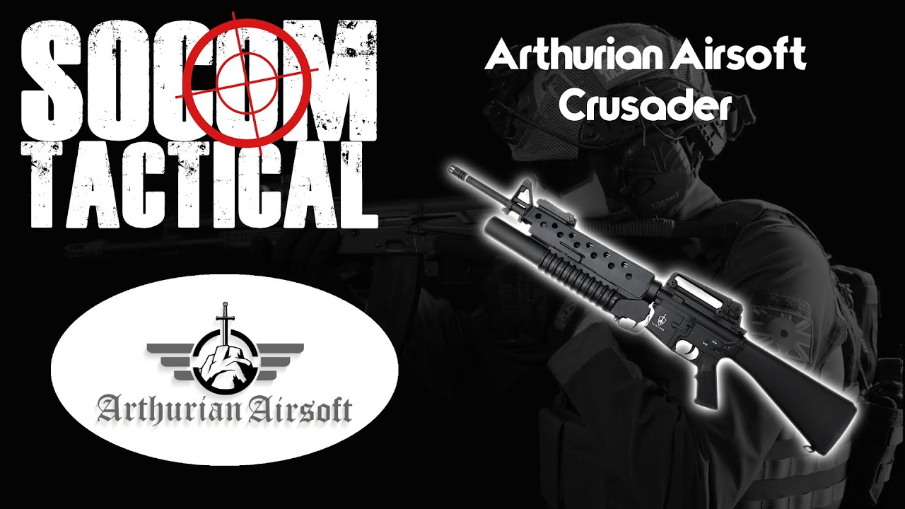 Arthurian Airsoft Crusader Review