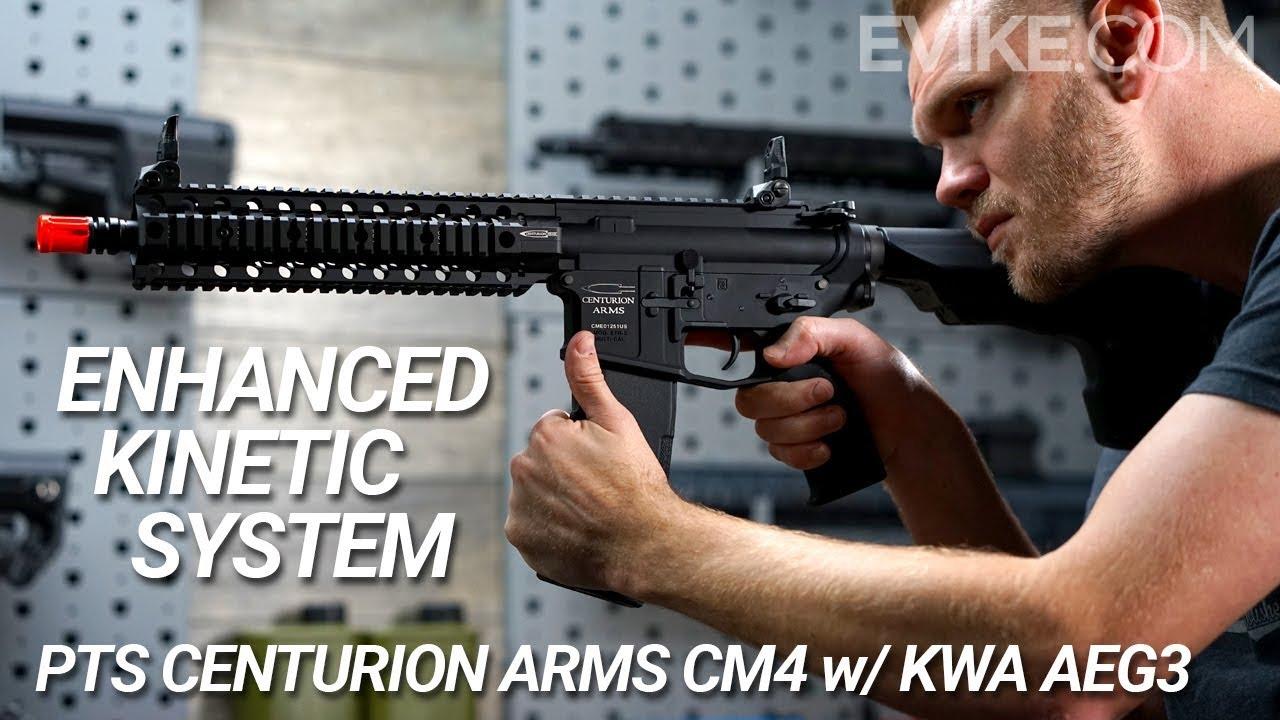 Système cinétique amélioré – Bras PTS Centurion CM4 avec KWA AEG3