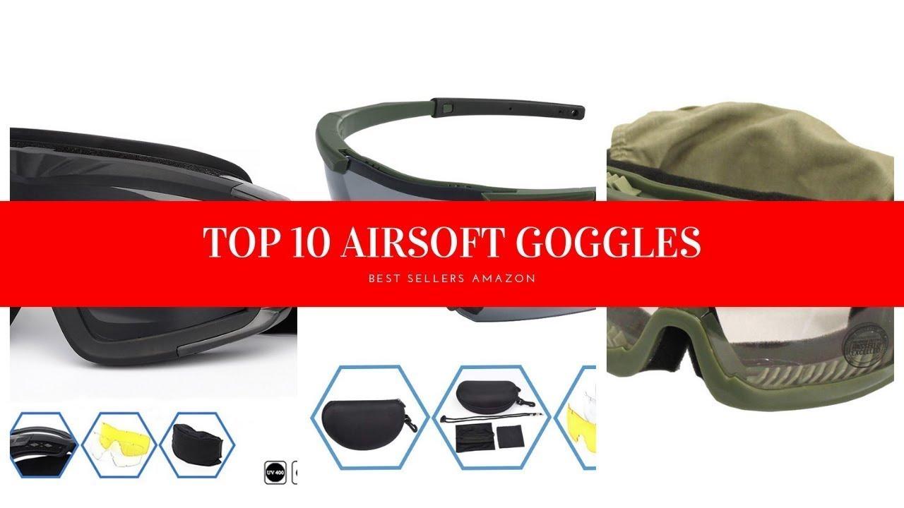 TOP 10 DES MEILLEURES LUNETTES AIRSOFT Amazon Review
