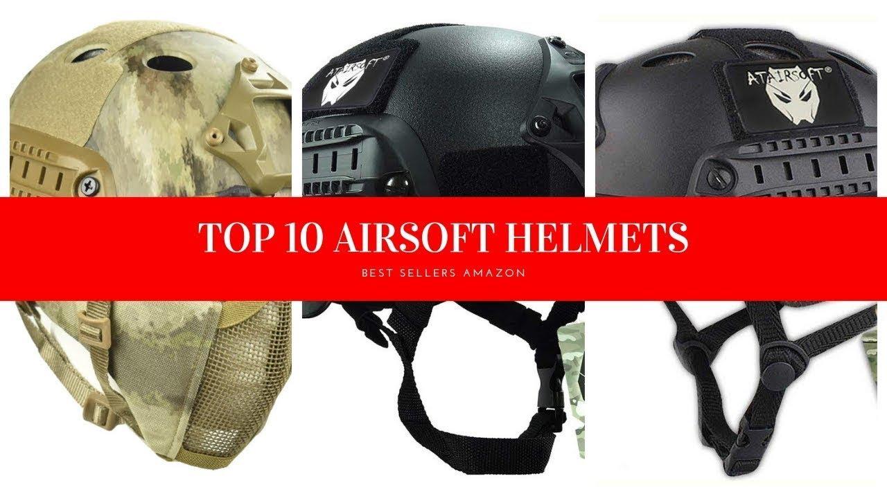 TOP 10 DES MEILLEURS CASQUES AIRSOFT Amazon Review