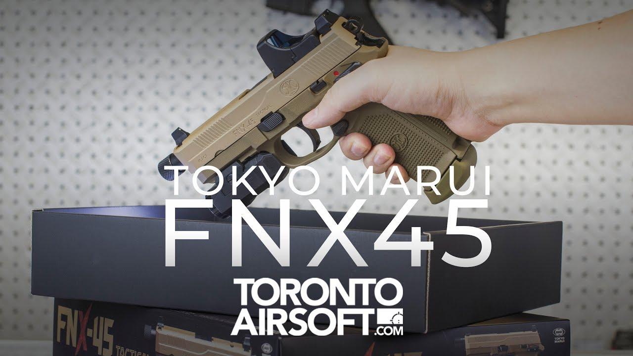 Découvrez le magnifique nouveau Tokyo Marui FNX45 – TorontoAirsoft.com