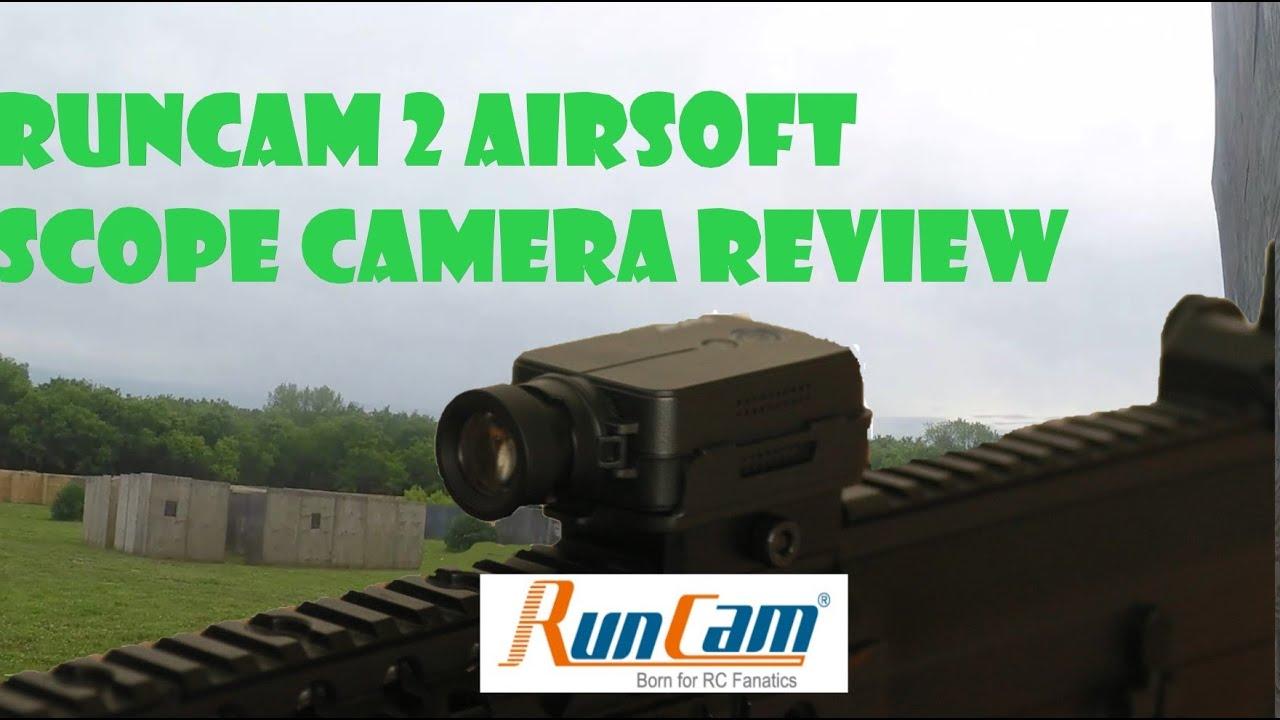 RunCam2 – Examen / et test de tir de la caméra de portée 35 mm Airsoft