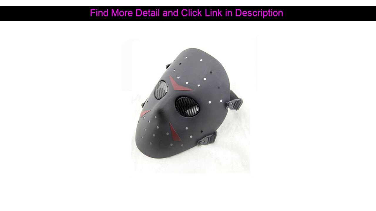 Donner votre avis sur Airsoft Hockey Full Face Metal Mesh Airsoft Mask Paintbal CS Wargame Halloween Party Militar