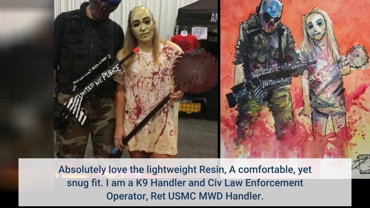 Critique: Masque de costume intégral Outgeek Tactical Airsoft Mask (urbain)