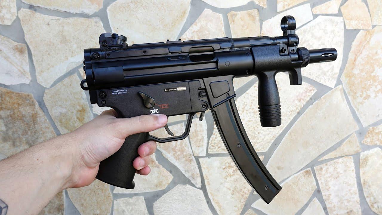 Co2 MP5 Airsoft en métal dans le test! (Heckler)