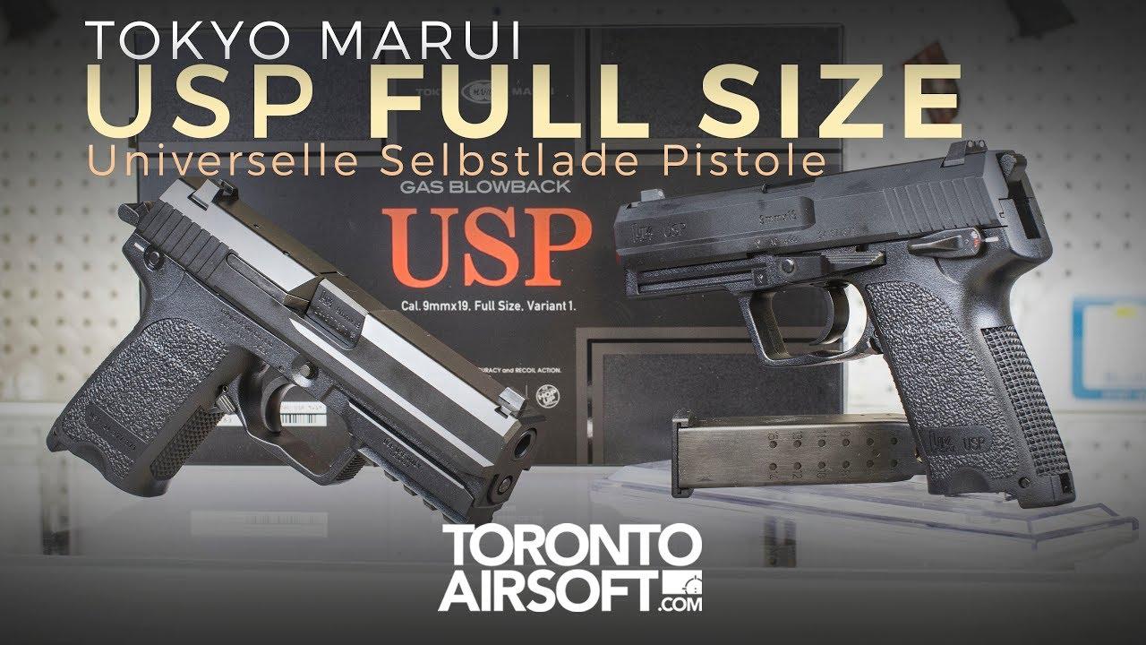 Critique complète de Tokyo Marui USP – TorontoAirsoft.com